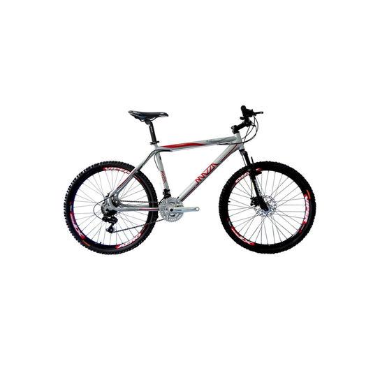 Bicicleta Mazza Fire 112 Tz Disc T19 Aro 26 Susp. Dianteira 24 Marchas - Cinza