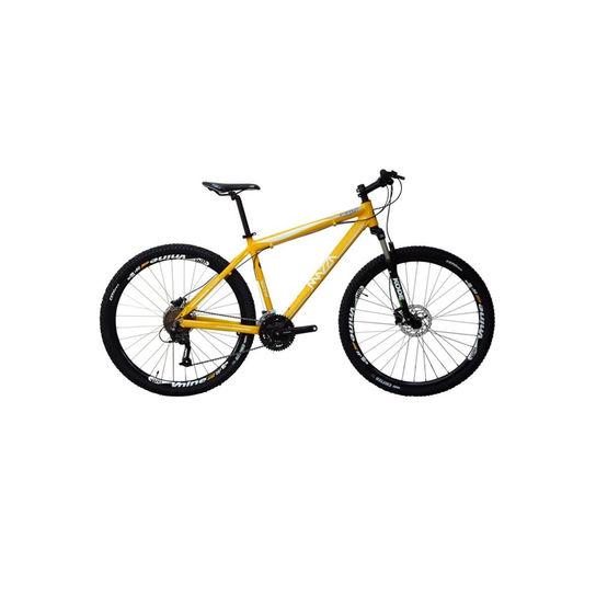 Bicicleta Mazza Fire 112 Disc M T17 Aro 29 Susp. Dianteira 24 Marchas - Amarelo