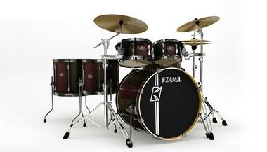 Bateria Acústica Tama Superstar Marrom - Sk62