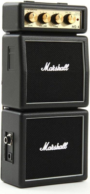 Caixa Acústica Marshall Amps Amplificada 1 W Rms Ms4