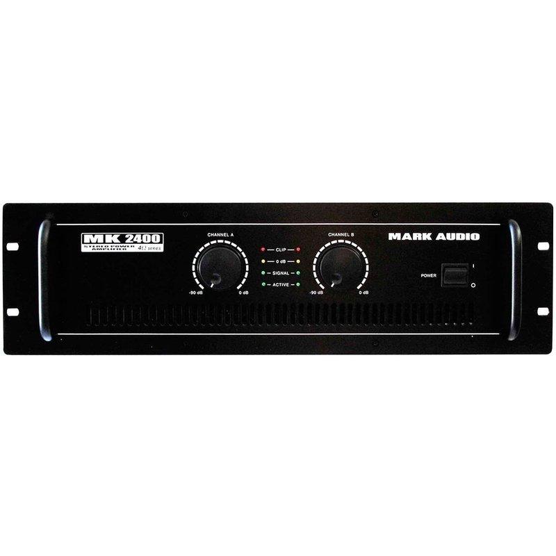 Amplificador Mk2400 400w Rms Mark Audio