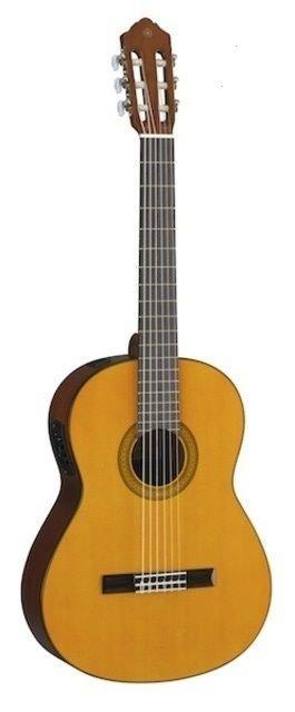 Violão Eletroacústico Clássico 6 Cordas Nylon Cgx102 Natural - Yamaha