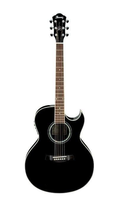 Violão Eletroacústico Joe Satriani Signature 6 Cordas Aço Jsa5 Preto Ibanez