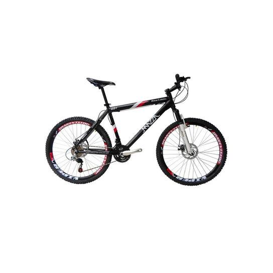 Bicicleta Mazza New Times Disc M T17 Aro 26 Susp. Dianteira 21 Marchas - Preto