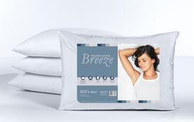 Travesseiro Altenburg Breezer Suporte Médio 100% Poliéster 50x70cm