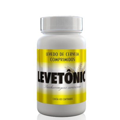 Body Action Levetônic 400 Comprimidos