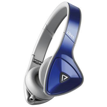 Fone de Ouvido Headphone Dna Cinza e Azul Monster
