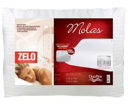 Travesseiro Zelo Molas 100% Algodão 40x50cm