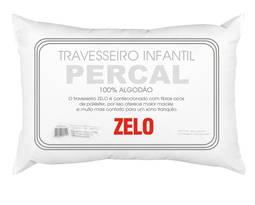 Travesseiro Zelo Infantil 100% Algodão 30x40cm