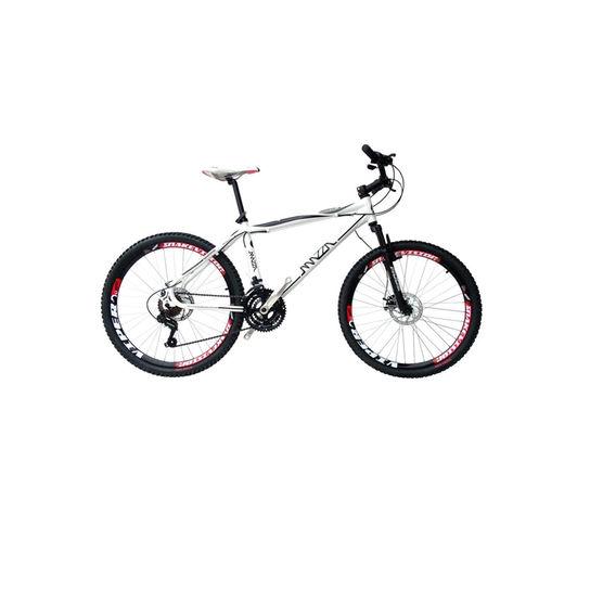 Bicicleta Mazza Fire 112 Disc H T21 Aro 26 Susp. Dianteira 27 Marchas - Branco