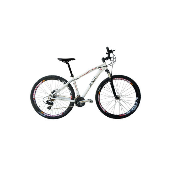 Bicicleta Mazza Ninne T17 Hidráulico Aro 29 Susp. Dianteira 24 Marchas - Branco
