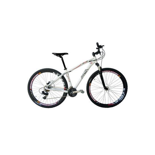 Bicicleta Mazza Ninne T19 Hidráulico Aro 29 Susp. Dianteira 21 Marchas - Branco