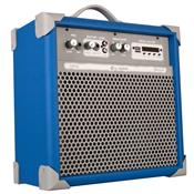 Caixa Acústica Ll Audio Amplificada - Azul 45 W Rms Up!6