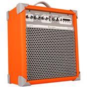 Caixa Acústica Ll Audio Multiuso Amplificada - Laranja 55 W Rms Up!8
