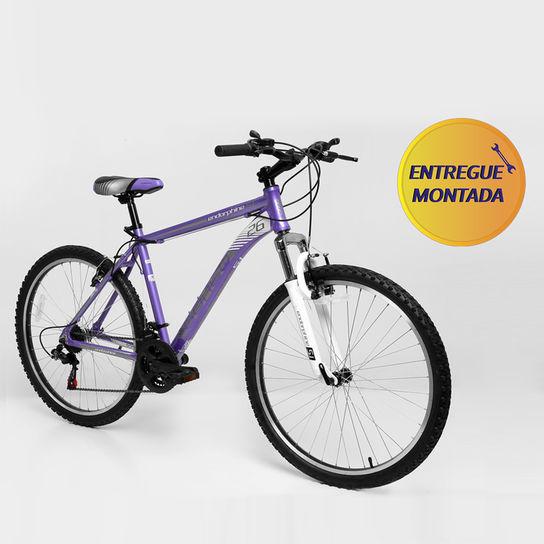 Bicicleta Gonew Endorphine 5.1 T18,5 Aro 26 Susp. Dianteira 21 Marchas - Roxo