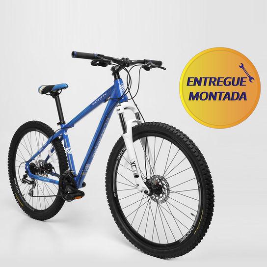 Bicicleta Gonew Endorphine 7.3 T17 Aro 29 Susp. Dianteira 24 Marchas - Azul