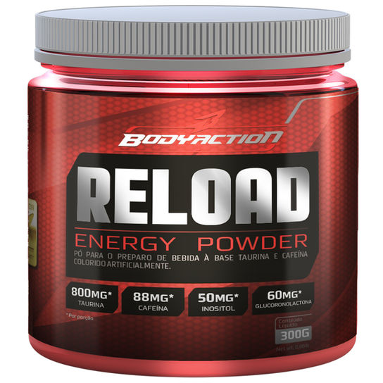 Reload Energy Powder 300g Body Action