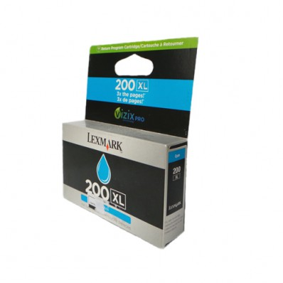 Cartucho Lexmark 200xl 30,5ml Ciano 14l0175
