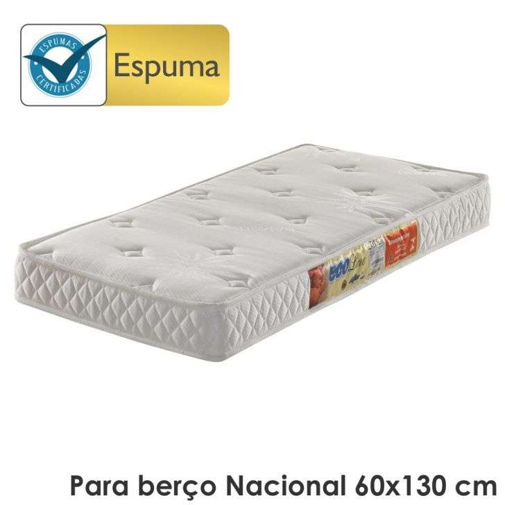 Colchão Ecoflex Ecoline Bambu 60x130x12cm D18 Infantil