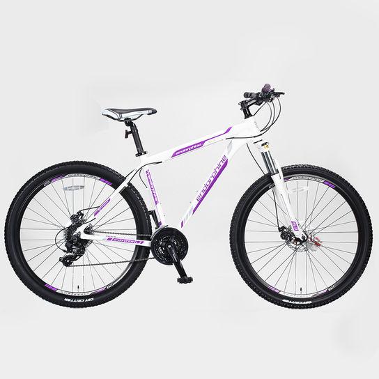Bicicleta Gonew Endorphine 6.3 T17 Aro 29 Susp. Dianteira 24 Marchas - Branco/lilás