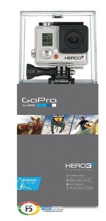 Filmadora Gopro Digital Hero Plus Preto - Chdhc-101