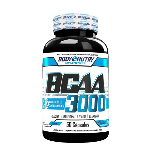 Bcaa 3000 - 50 Cápsulas Body Nutry