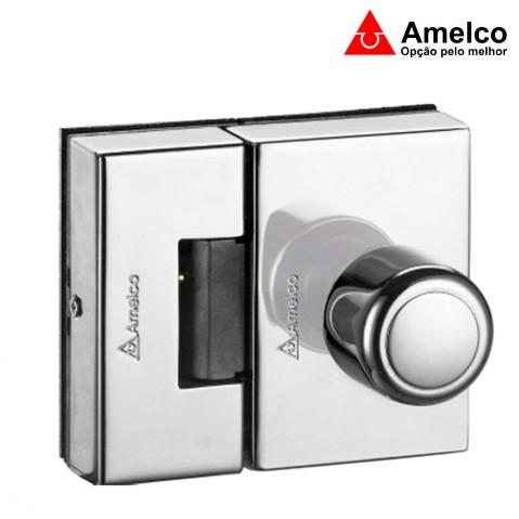Fechadura Amelco P/ Porta de Vidro - Fv35icr
