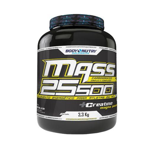 Mass 25500 3,3kg Morango Body Nutry