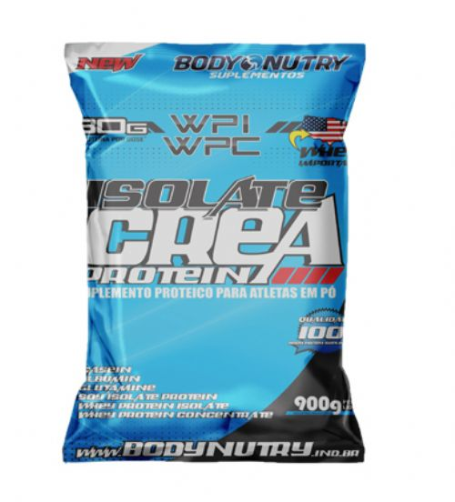 Whey Isolate Crea Protein 900g Body Nutry