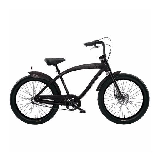Bicicleta Nirve Skulls T18 Aro 26 Rígida 3 Marchas - Preto