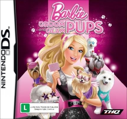 Jogo Barbie - Groom And Glam Pups - Nds - Thq
