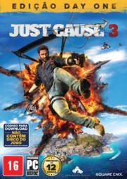 Jogo Just Cause 3 Edição Day One Square Enix - Pc