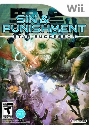 Jogo Sin And Punishment: Star Successor - Wii - Nintendo