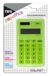 Calculadora de Bolso Office Verde Triss