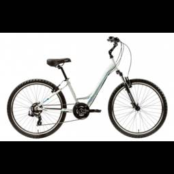 Bicicleta Groove Dubstep T15 Aro 26 Susp. Dianteira 21 Marchas - Branco