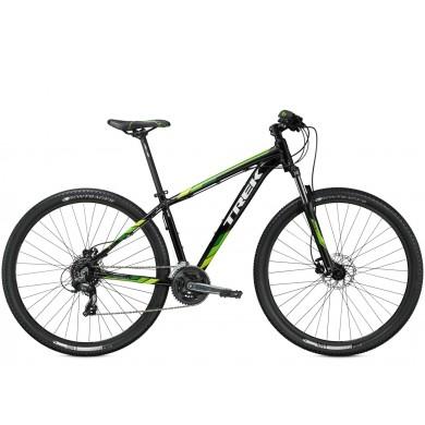 Bicicleta Trek Bikes Marlin 6 T18.5 Aro 29 Susp. Dianteira 24 Marchas - Preto/verde