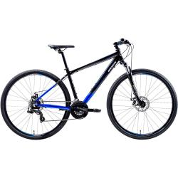 Bicicleta Groove Trail T17 Aro 700 Susp. Dianteira 21 Marchas - Azul/preto