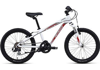 Bicicleta Specialized Hotrock Aro 20 Susp. Dianteira 6 Marchas - Branco