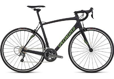Bicicleta Specialized Roubaix Sl4 T54 Aro 700 Rígida 11 Marchas - Preto/vermelho