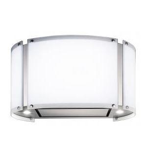 Coifa de Ilha Elettromec 70 Cm Arcobaleno Inox - 220v - Com Vidro Branco