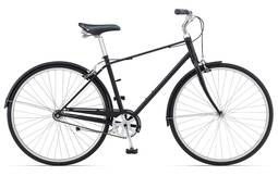Bicicleta Giant Bike Via 3 Tm Aro 700 Rígida - Preto