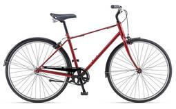 Bicicleta Giant Bike Via 3 Tp Aro 700 Rígida 1 Marcha - Vermelho