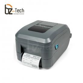 Impressora Térmica Etiqueta Zebra Gt800 Transferência Térmica Monocromática Usb, Serial, Paralela e Ethernet Bivolt