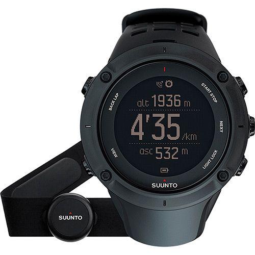Monitor Cardíaco Relógio Ambit3 Sport Black Suunto