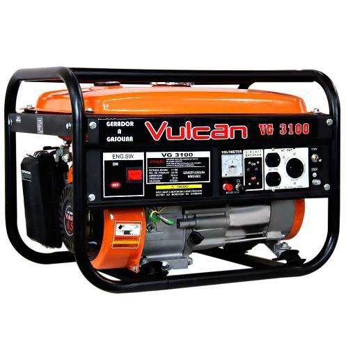 Gerador de Energia Vulcan Monofásico - Vg3100