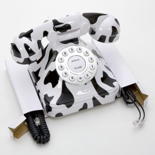 Telefone Com Fio Flash Sem Id Branco/preto
