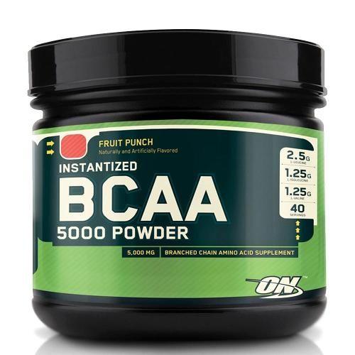 Bcaa 5000 Powder 380g Ponche de Frutas Optimum Nutrition