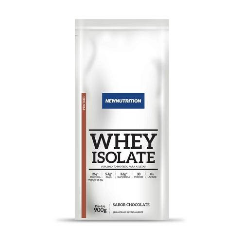 Whey Isolate 900g Chocolate New Nutrition