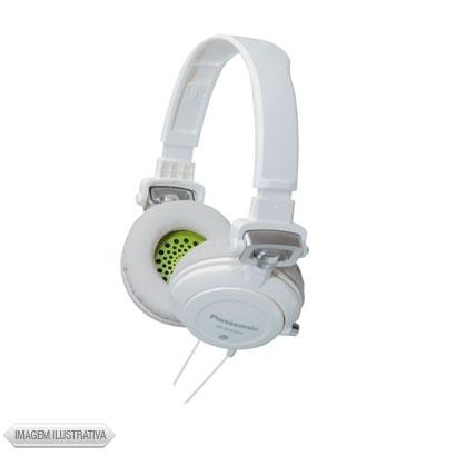 Fone de Ouvido Headphone Dj Street Branco Panasonic Rpdjs400b