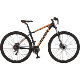 Bicicleta Khs Bike Aguile T15 Aro 29 Susp. Dianteira 27 Marchas - Laranja/preto